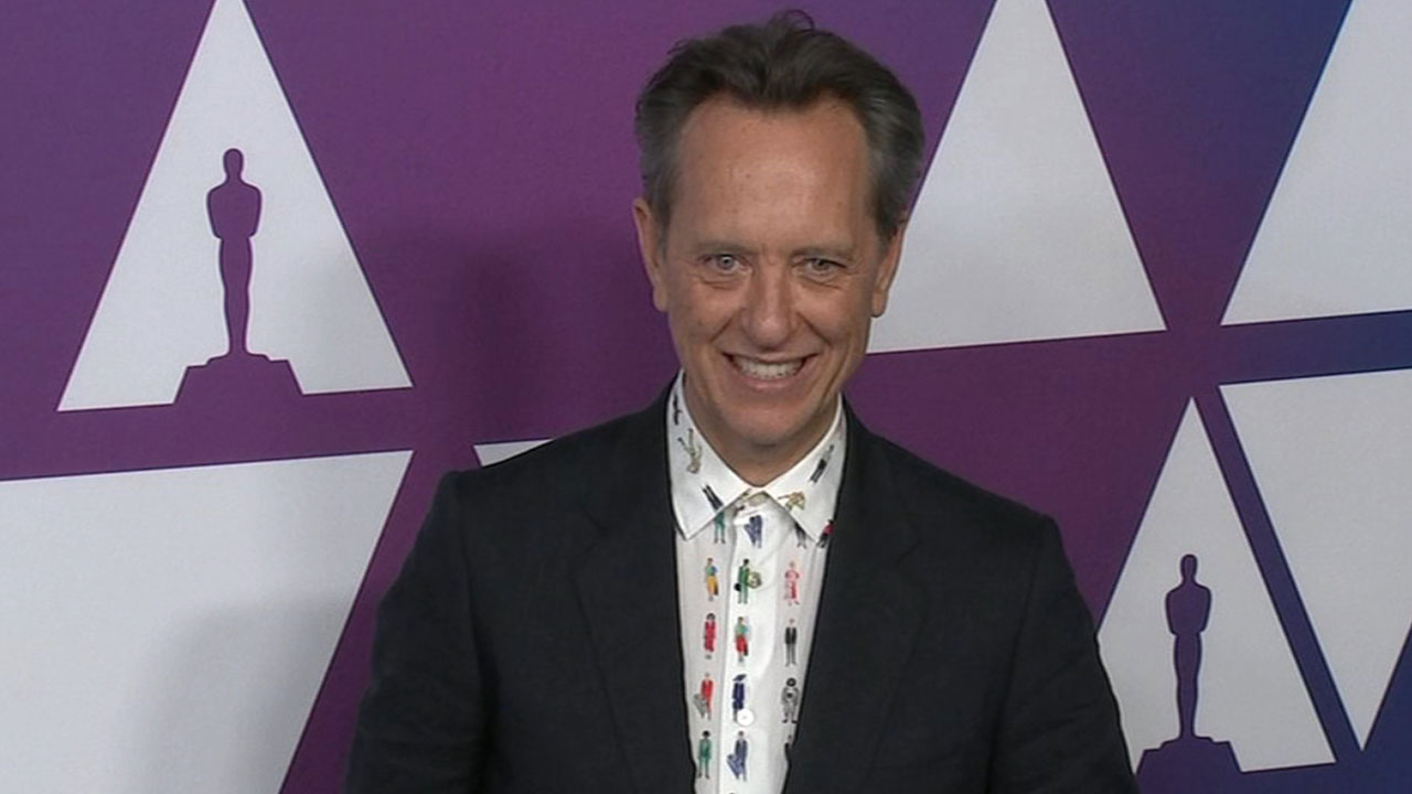 Veteran actor Richard E. Grant isnt taking his Oscar nomination for granted and is enjoying his moment in the Oscar spotlight.