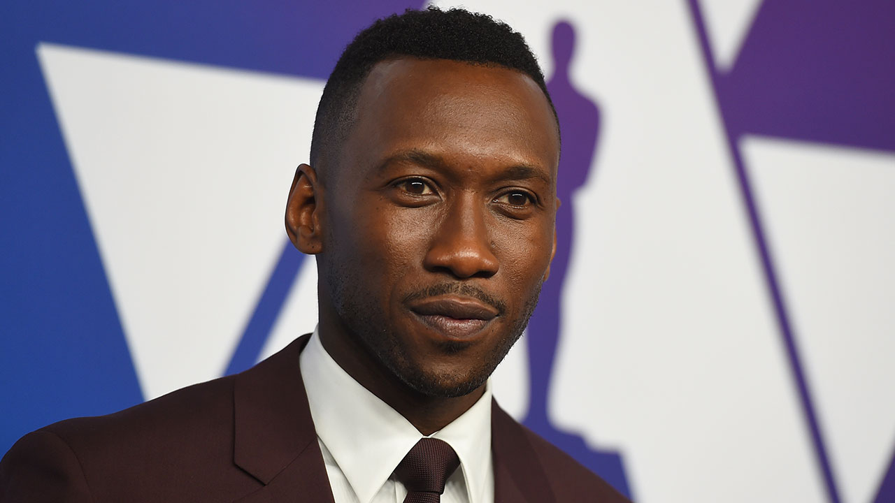 Mahershala Ali arrives at the 91st Academy Awards Nominees Luncheon on Monday, Feb. 4, 2019.