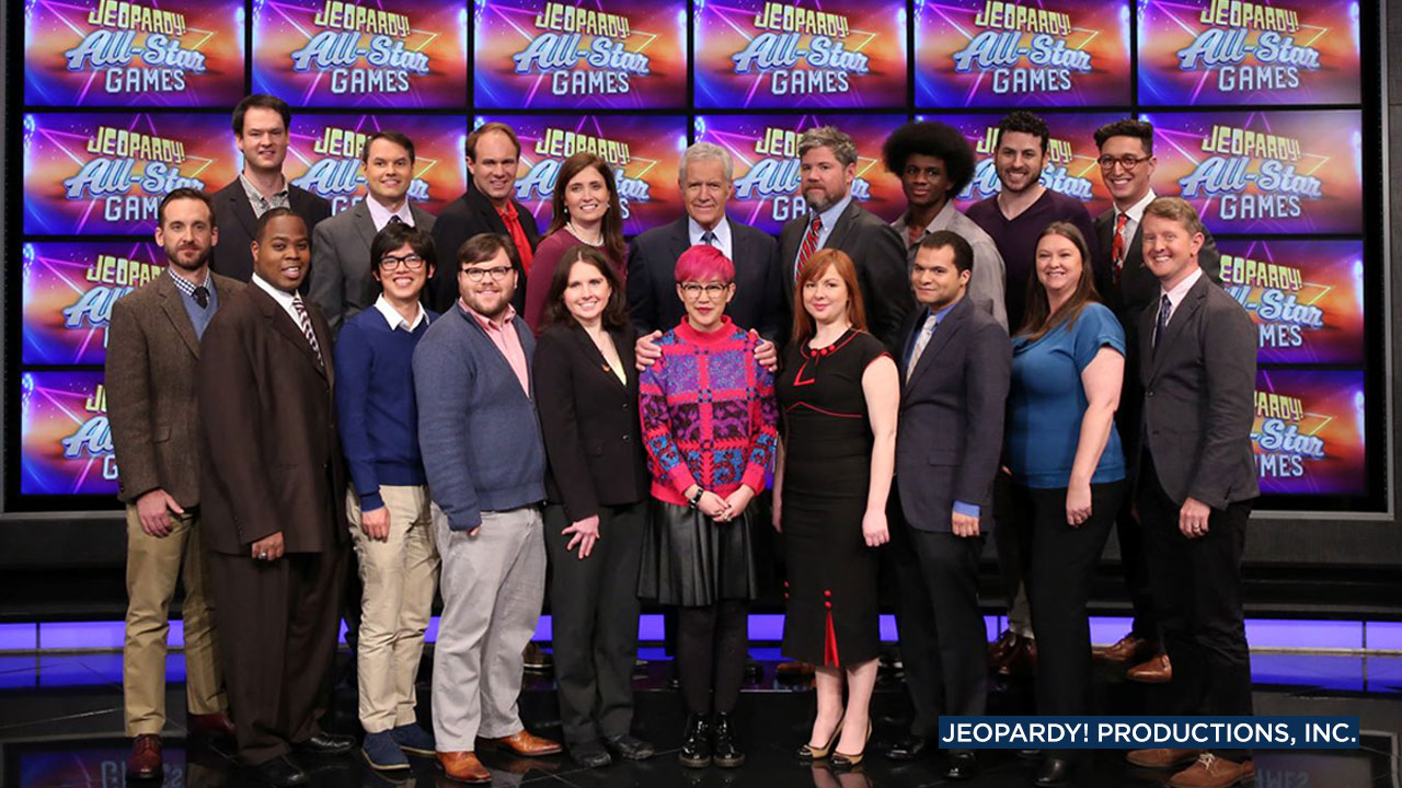 Some of the greatest players in recent Jeopardy! history are teaming up for the shows first-ever All Star Games team tournament.