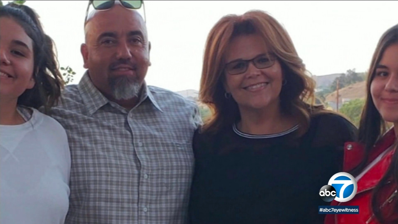 School assistant Lisa Solis was badly injured when she was run over at Thousand Oaks High School.