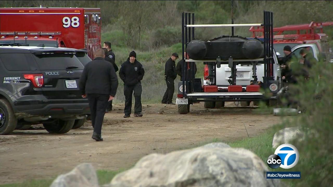 Chase suspect found dead in Hansen Dam lake