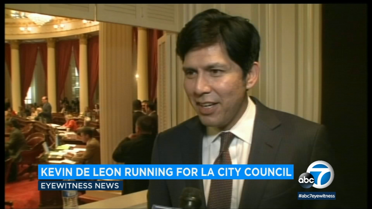 Former California State Sen. Kevin De Leon is seen in an undated file photo.