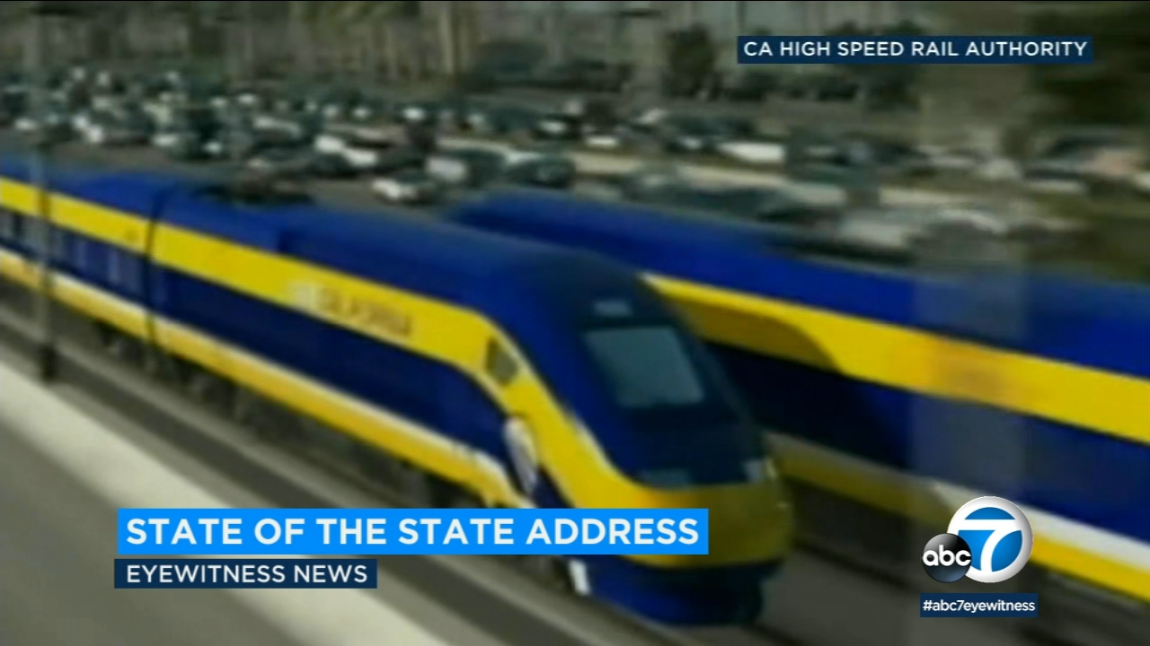 California Gov. Gavin Newsom says hes ending the states effort to build a high-speed rail line between San Francisco and Los Angeles.