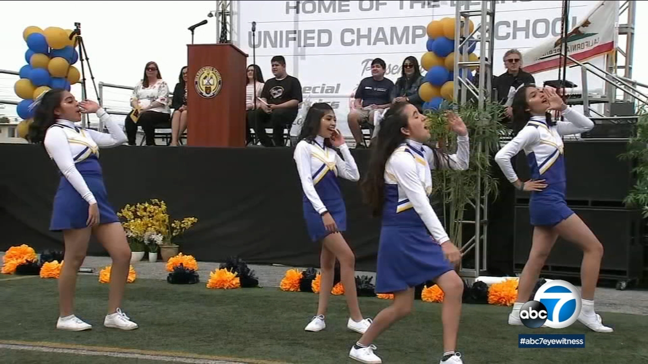 ESPN and the Special Olympics honored Warren High School in Downey as one of the most inclusive schools in the country.
