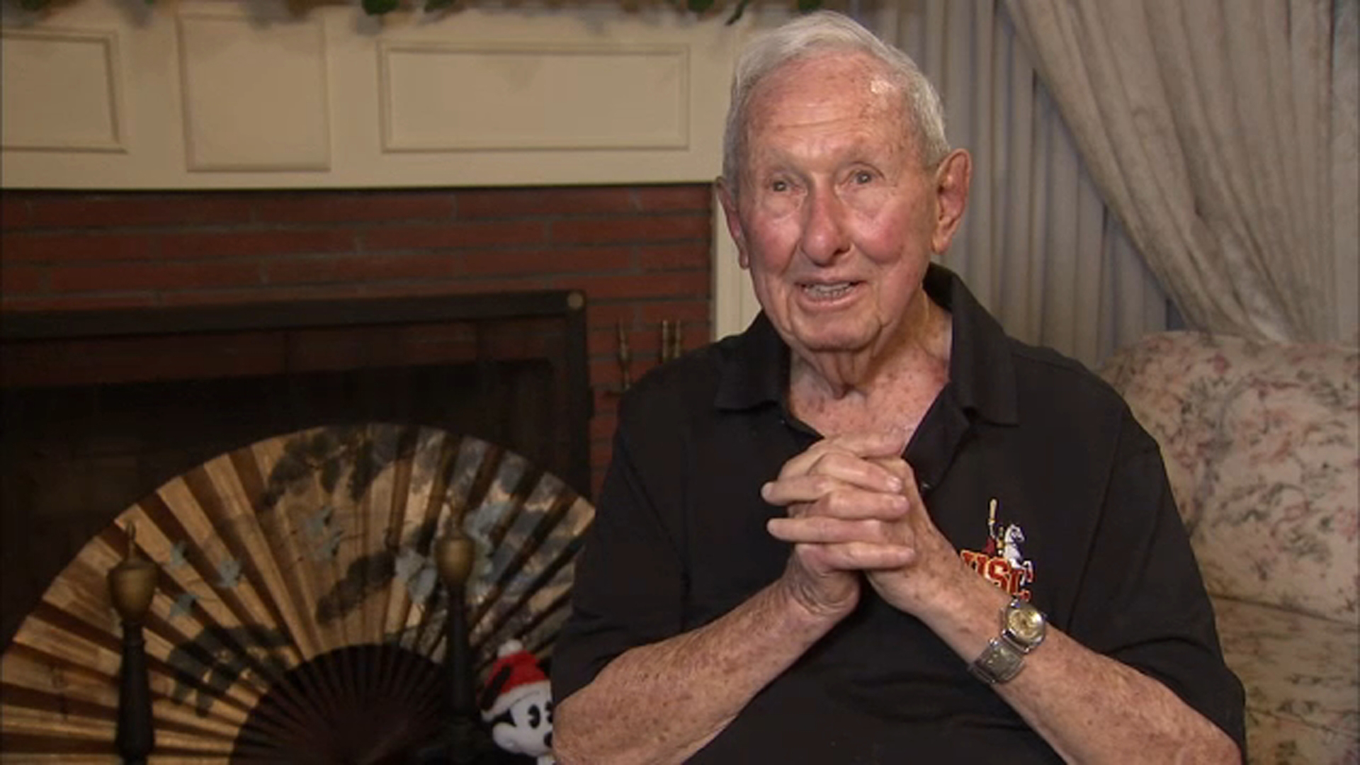 Ivan Cregger, a World War II veteran who now lives in Burbank, remarkably survived the Ploesti Air Raid in 1943.