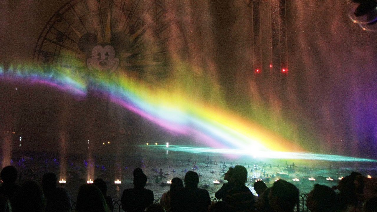 Premiere of World of Color water show at Disneyland in Anaheim, Calif., Thursday, June 10, 2010.