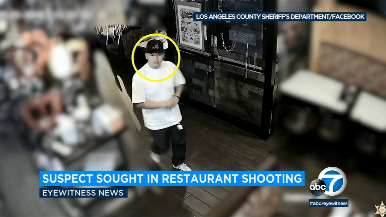 Sheriffs deputies are seeking the publics help identifying a suspect who opened fire at three men outside a Rosemead restaurant, leaving one with life-altering injuries.
