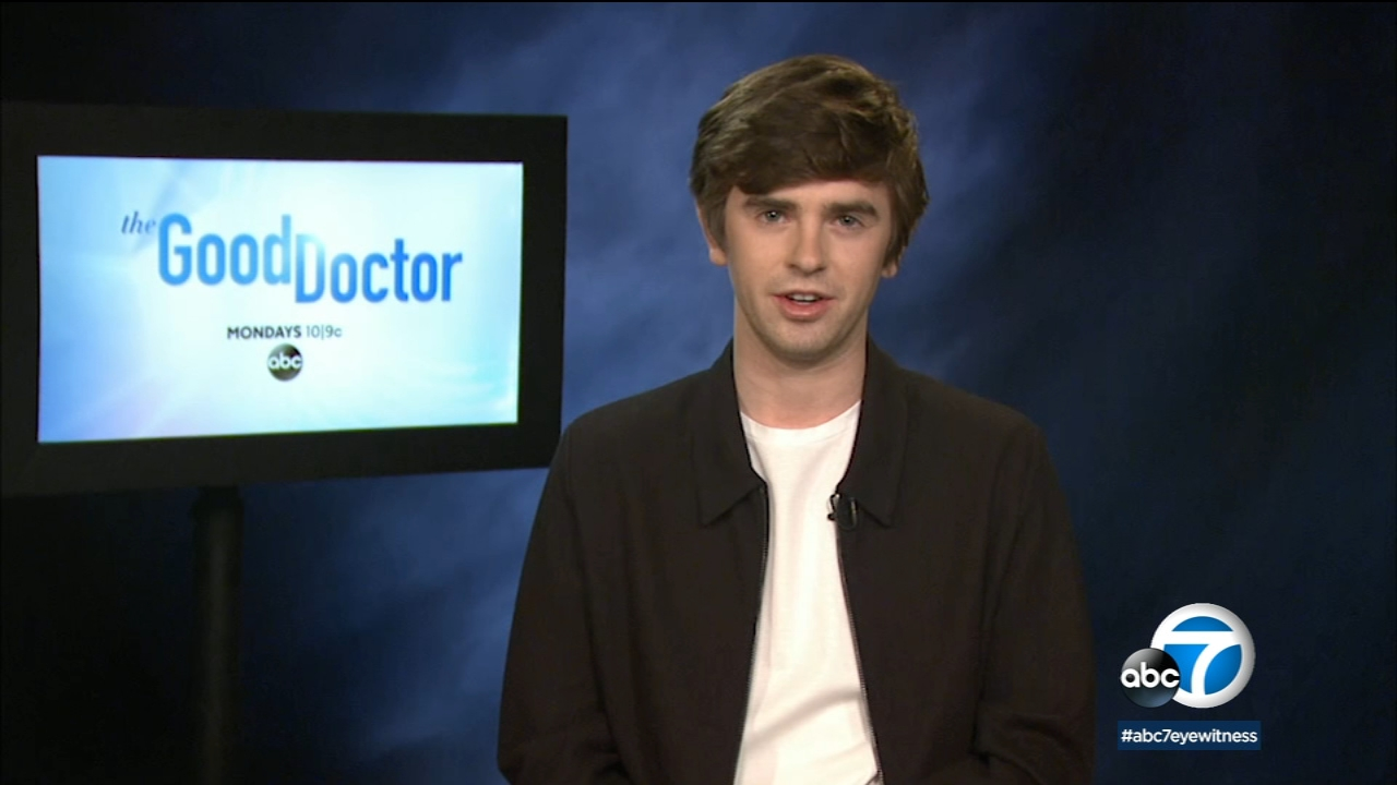 Actor Freddie Highmore takes on the challenge of directing an upcoming episode of The Good Doctor.