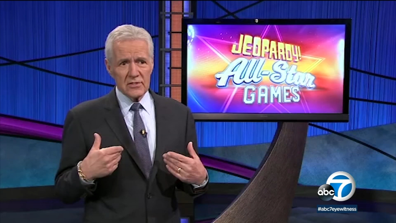 Alex Trebek is welcoming 18 previous big winners from Jeopardy to a special All-Star team tournament.