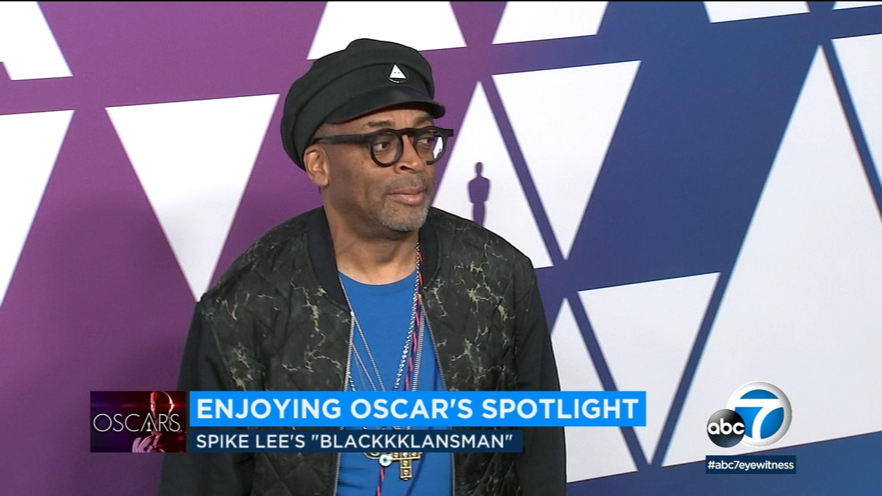 Writer-director Spike Lee is thrilled his team from BlacKkKlansman has been honored with Oscar nominations