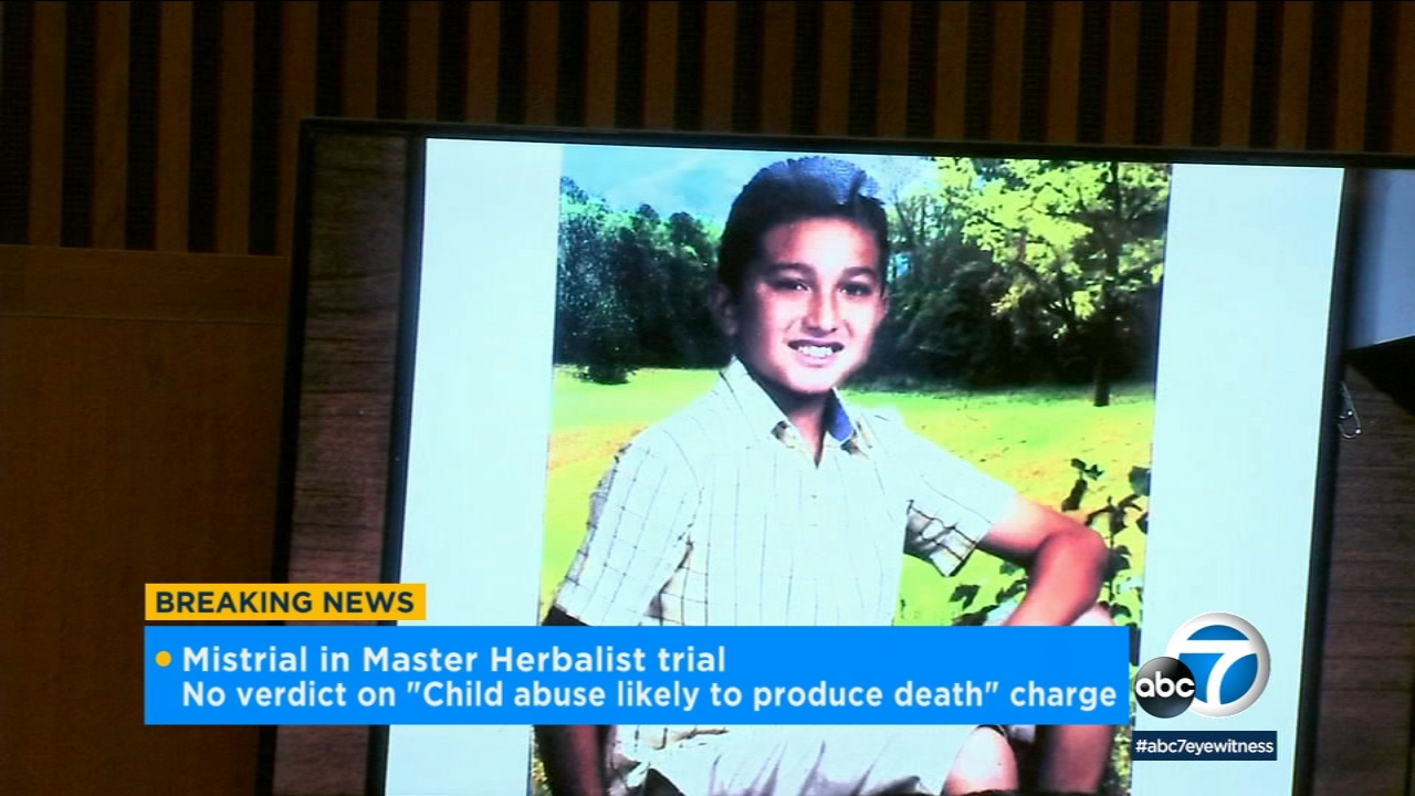 A jury has deadlocked over whether a Torrance master herbalist was responsible for a boys death after convincing his parents to stop treating his diabetes with insulin.