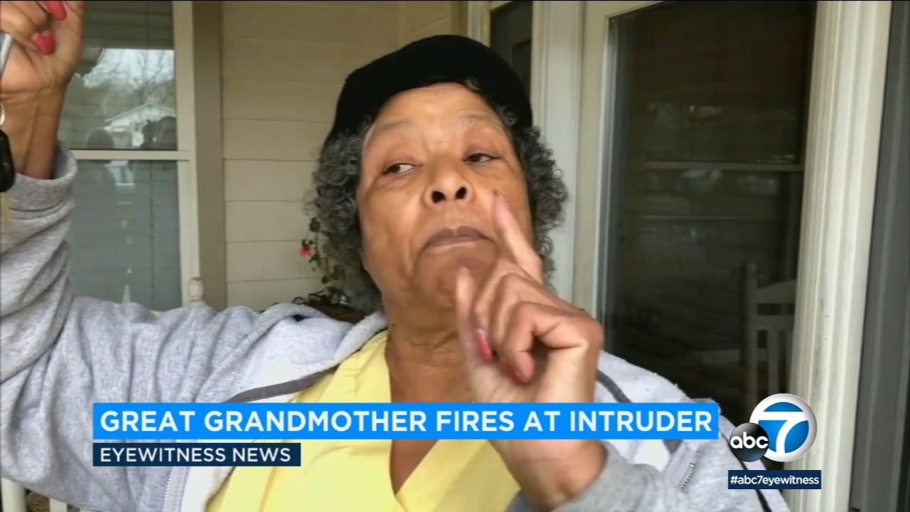 When an intruder broke into 79-year-old Gwendolyn Agards Georgia home, she grabbed her .38.