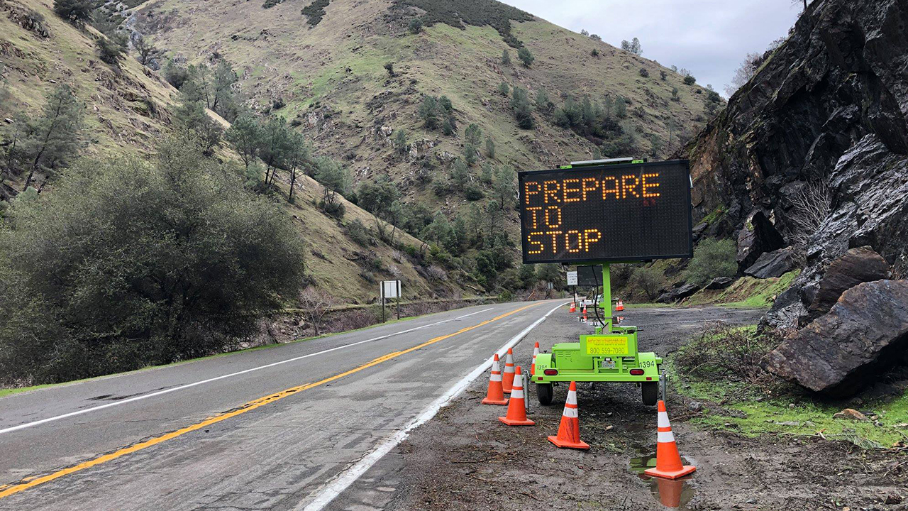 Caltrans is preparing to close Highway 140 in the Ferguson burn scar due to the ongoing storm.
