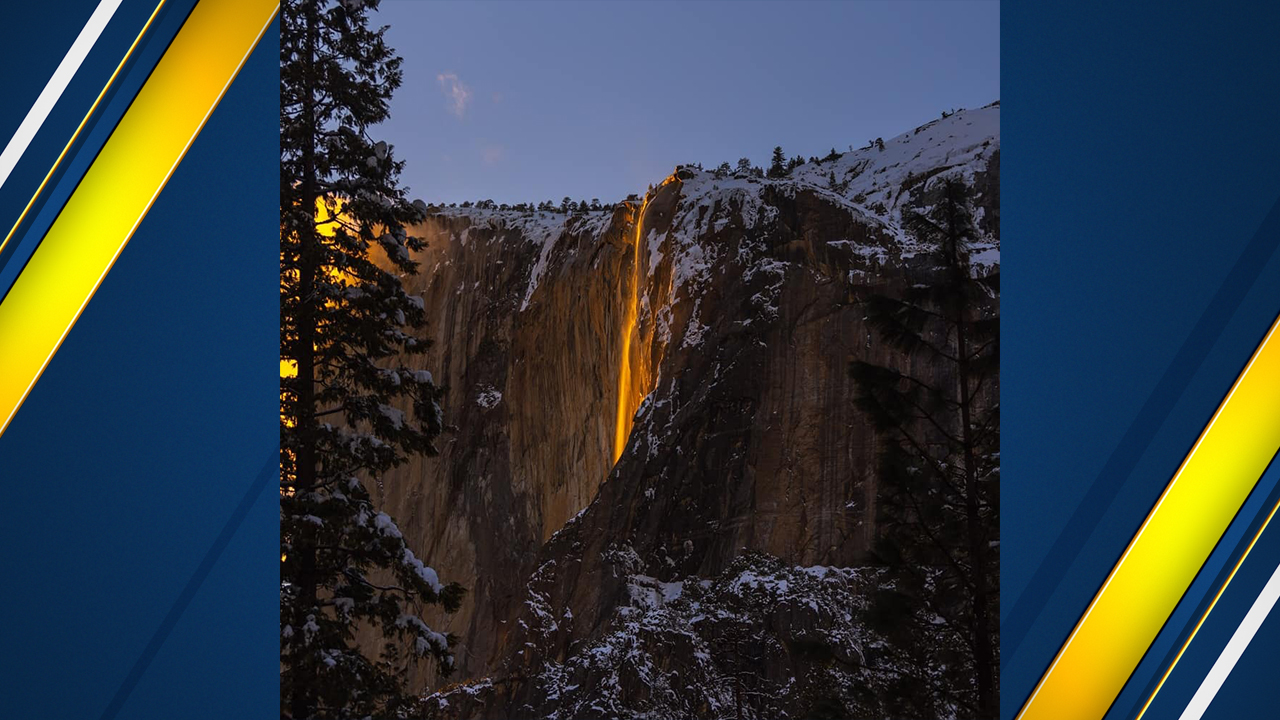 Yosemites famous firefall has returned but only for a short time. According to park officials, the event will last until Sunday, Feb. 24.