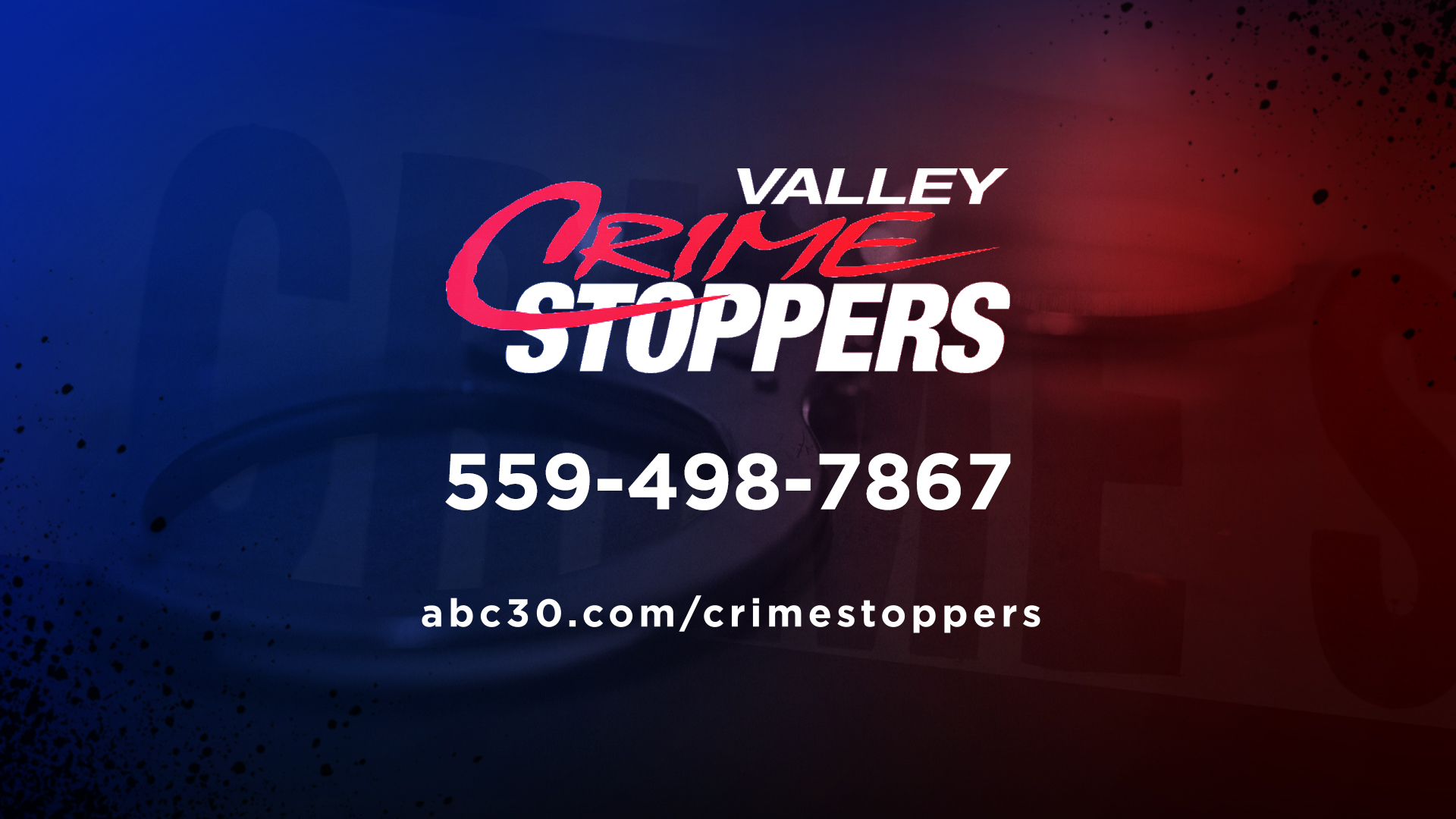 Report an anonymous tip to Valley Crime Stoppers