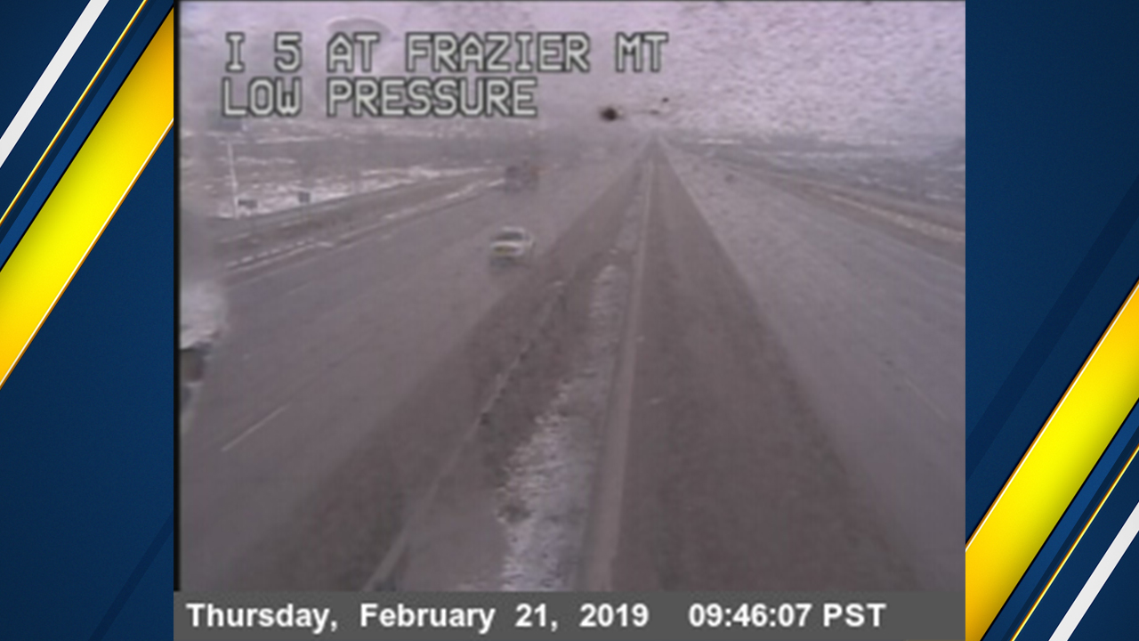 With snow starting to stick again, CHP has resumed pacing operations.