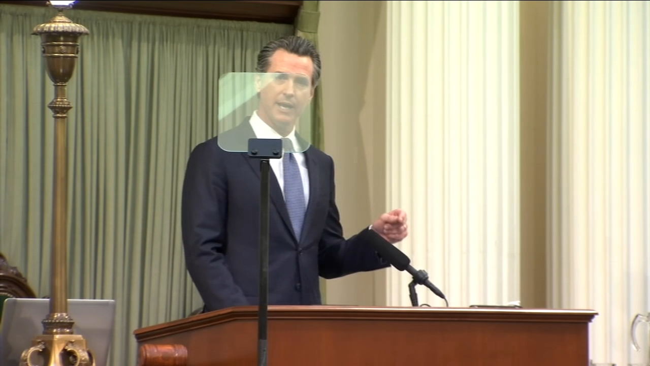 California State of the State: Gov. Newsom curtails plan for High-Speed Rail