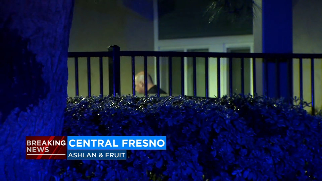 The shooting occurred at an apartment complex near Ashlan and Fruit on Friday evening.