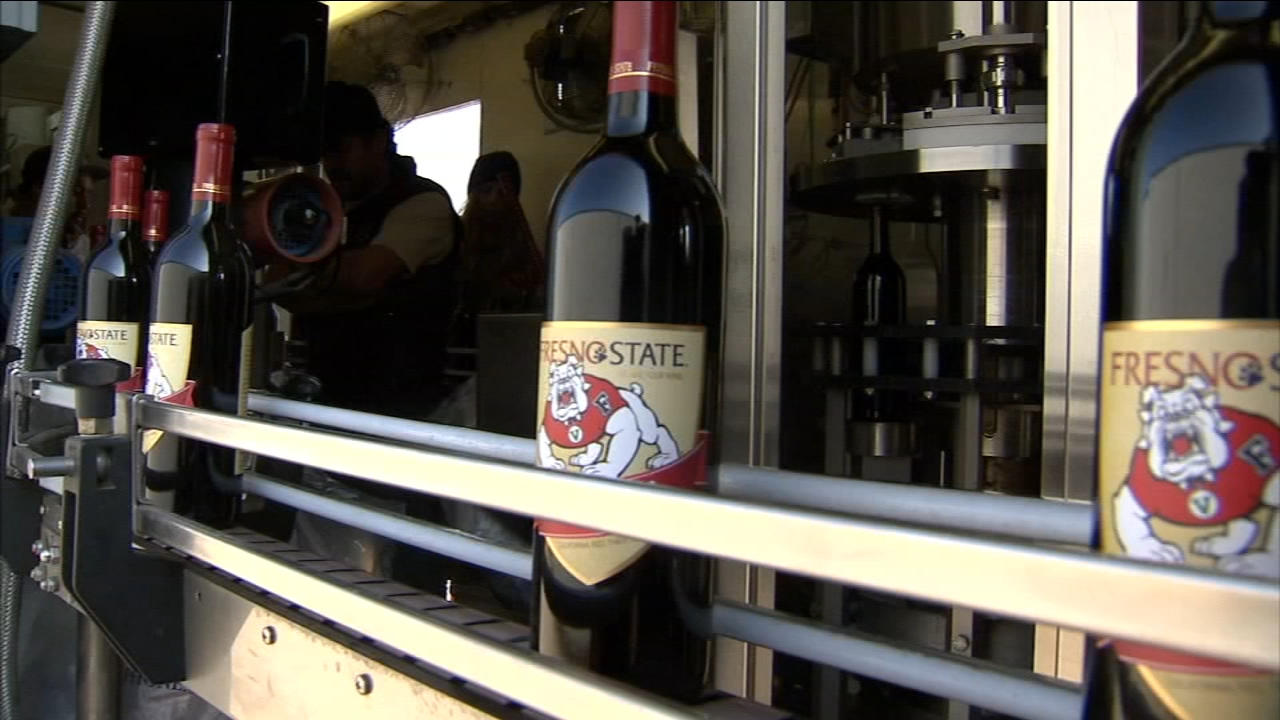 Fresno State wines have become so popular theyve been shipped out to 15 different states.