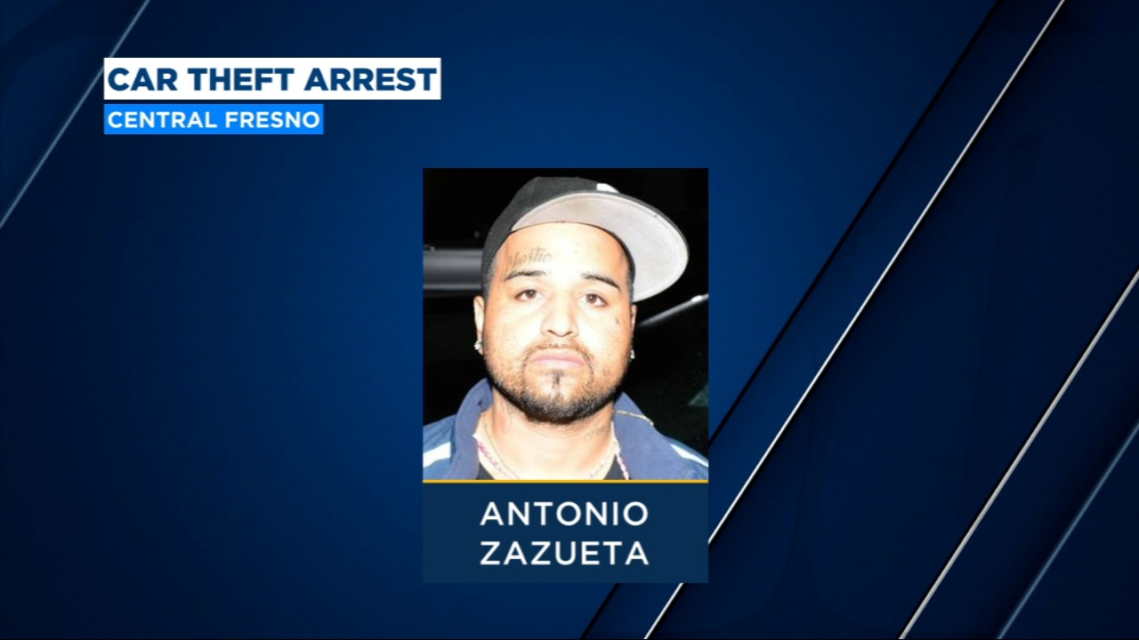 Central Fresno car thief running chop shop arrested