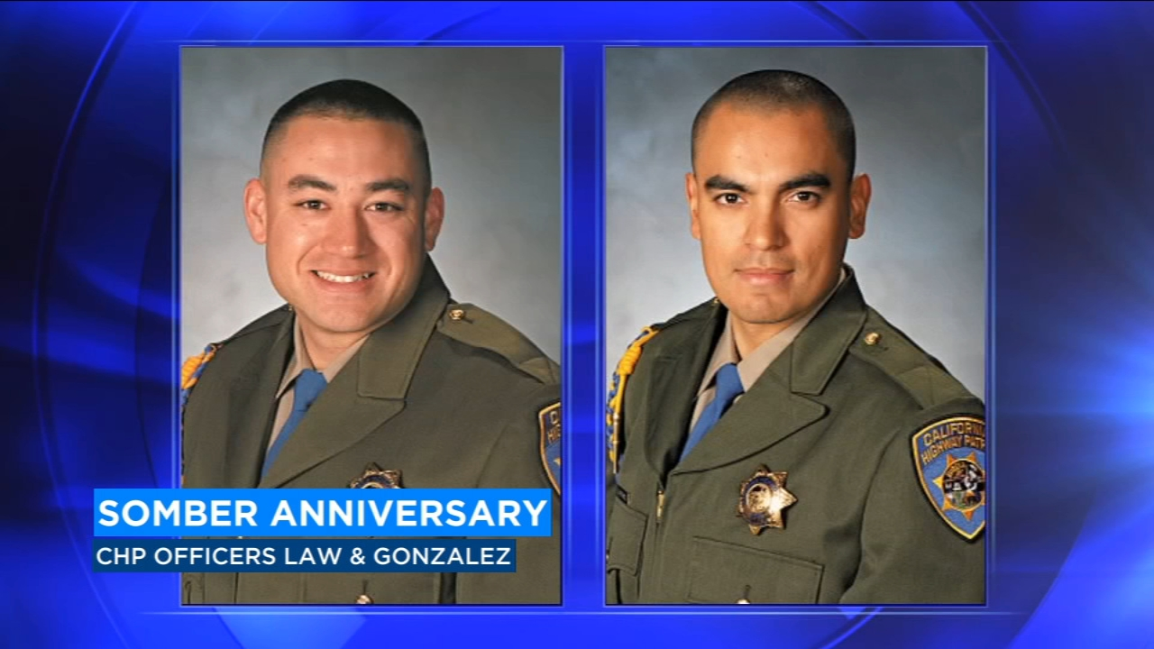 Officers Brian Law and Juan Gonzalez died in the line of duty on February 17, 2014, on their way to a crash on Highway 99.