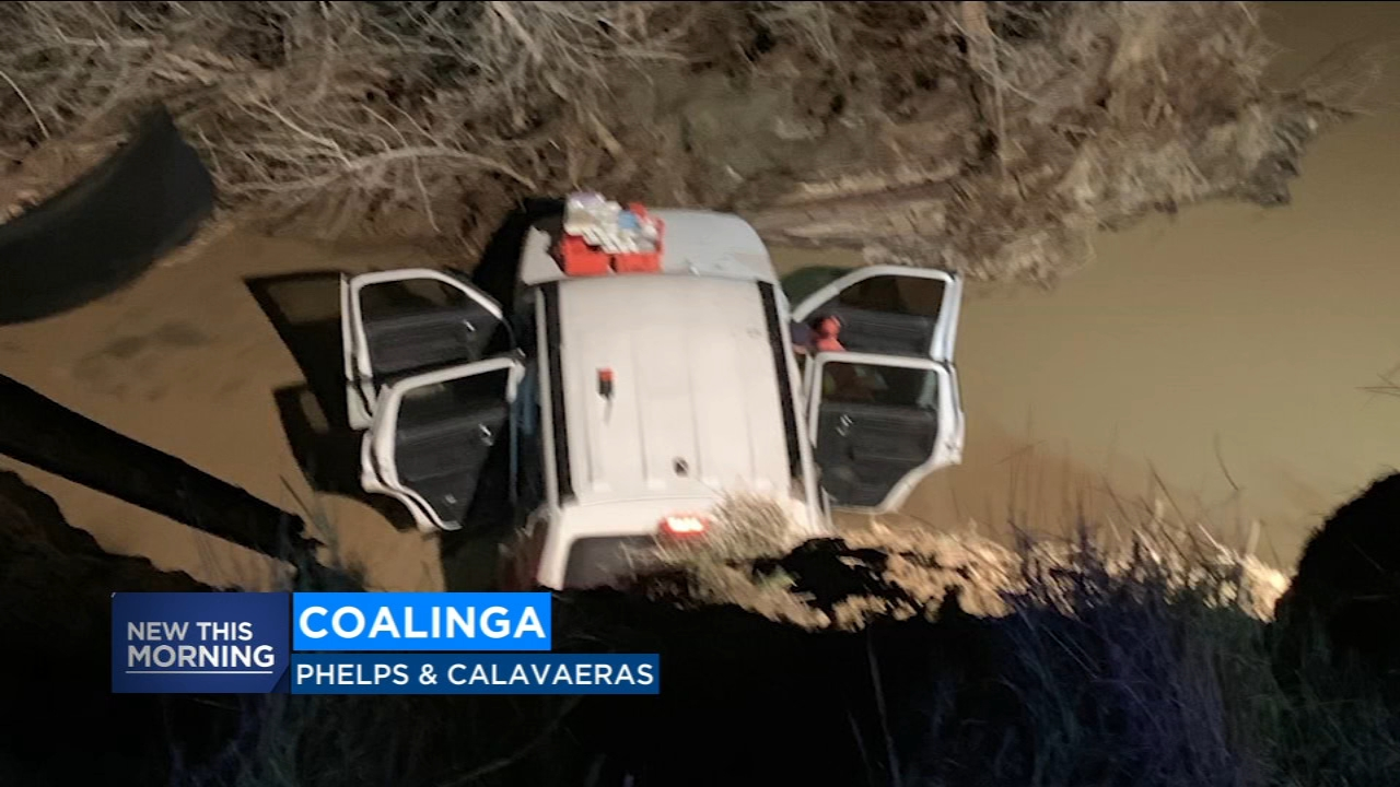SUV drives off Coalinga cliff getting away from scene of crime