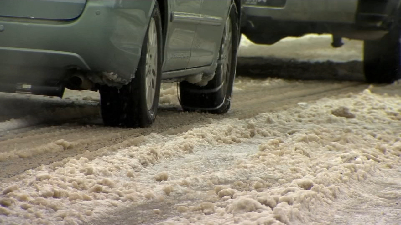 Freeze warning to create dangerous road conditions, including black ice