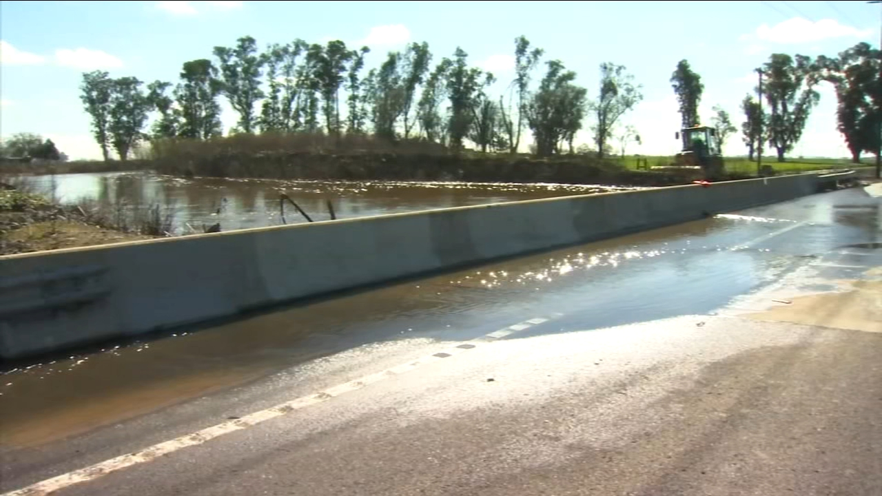 Portion of Highway 59 closes due to flooding