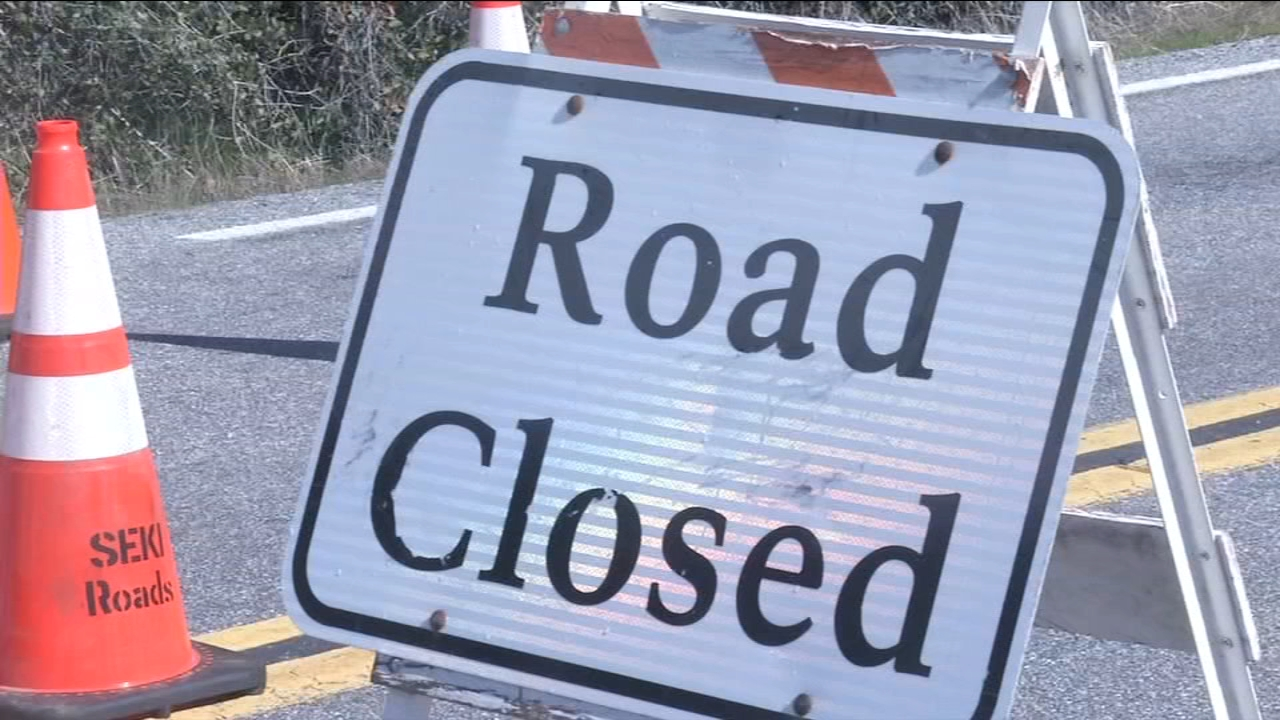 Weather closes large part of Generals Highway in Sequoia National Park