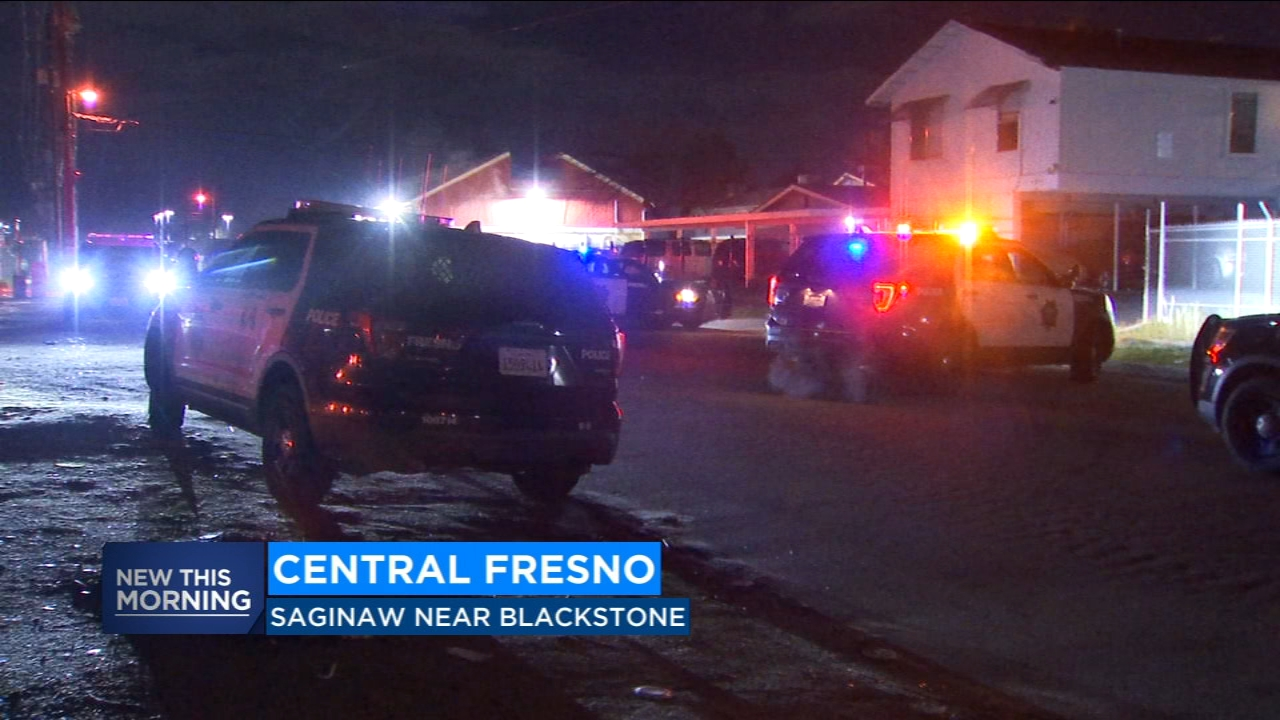 Two people are being detained by Fresno Police after a man was stabbed in the neck.