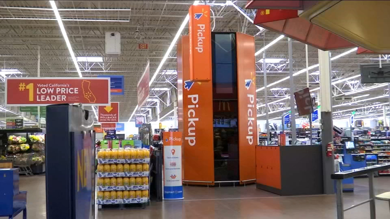 A new device at the Dinuba Walmart is helping customers get their online orders much faster.