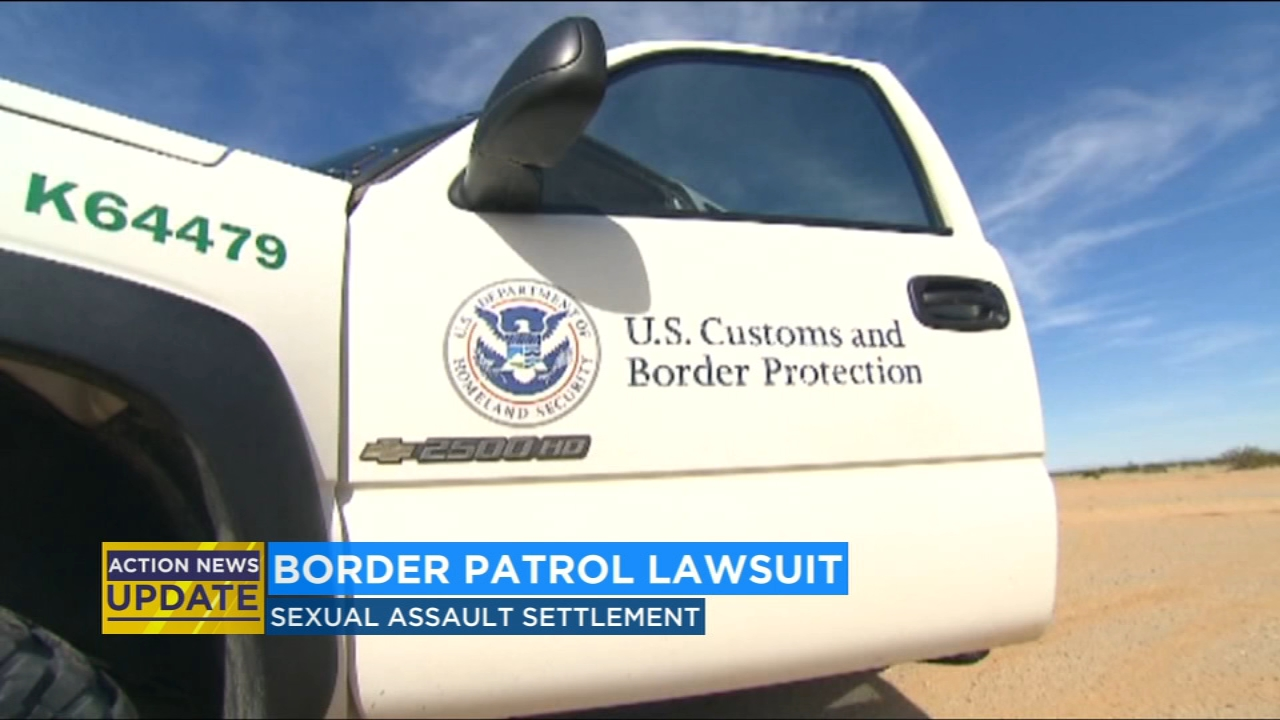 Settlement reached in sexual assault lawsuit against border patrol