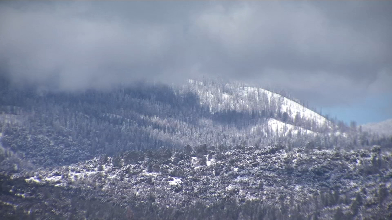 Sierra snowpack well above average for first time in years