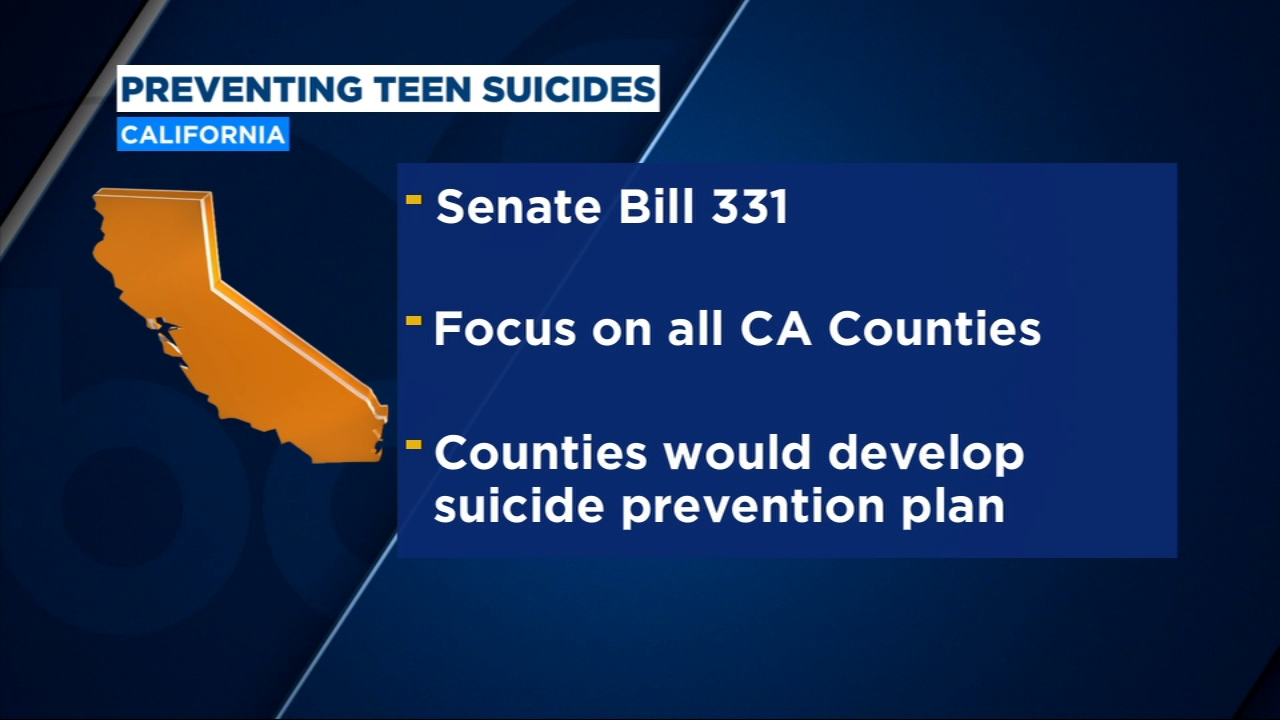 Valley senator introduces bill to help prevent teen suicides