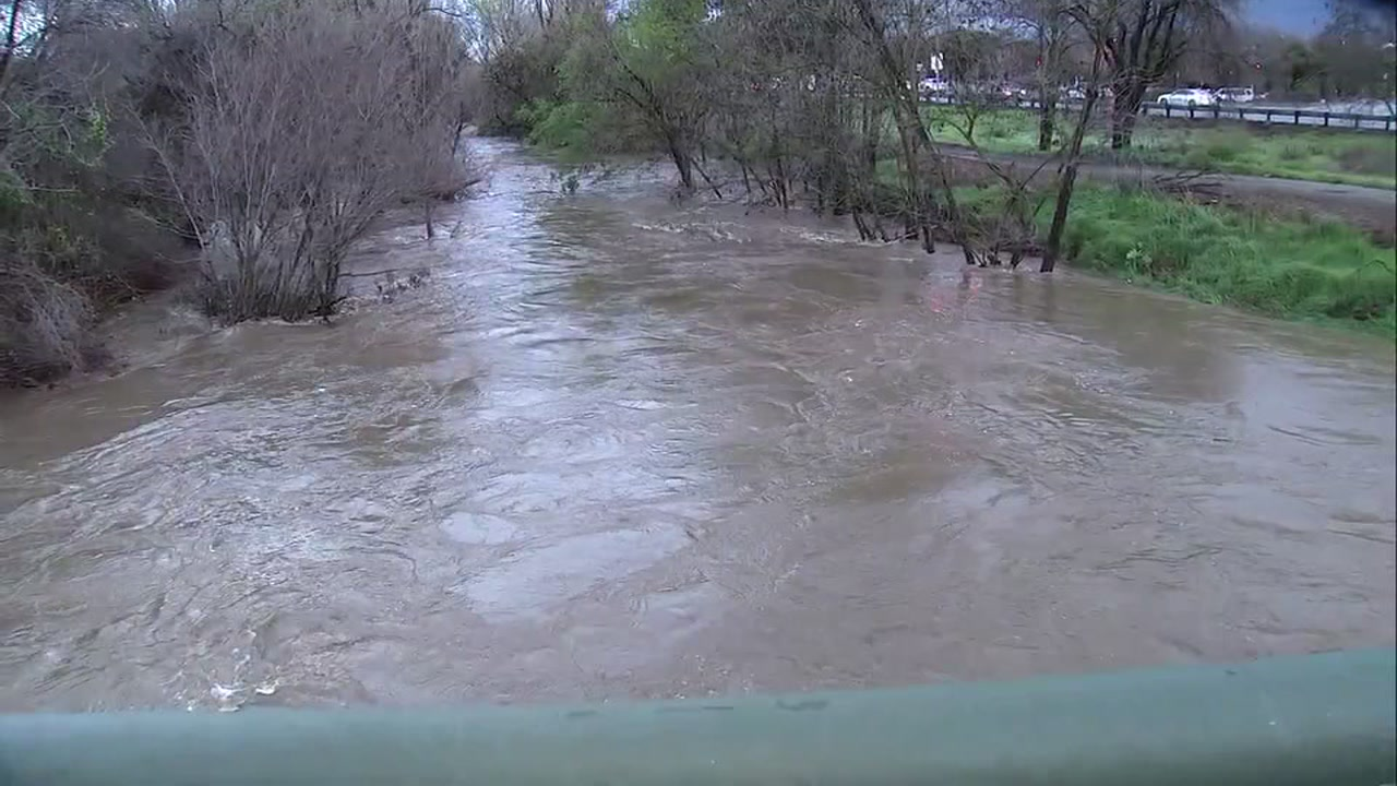 Guadalupe River in San Jose, California on Thursday, February 14, 2019.