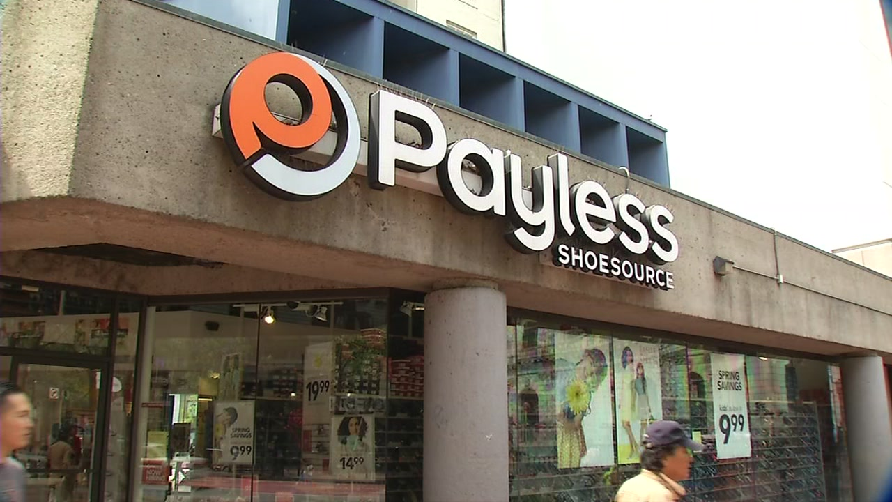 FILE -- Payless ShoeSource store