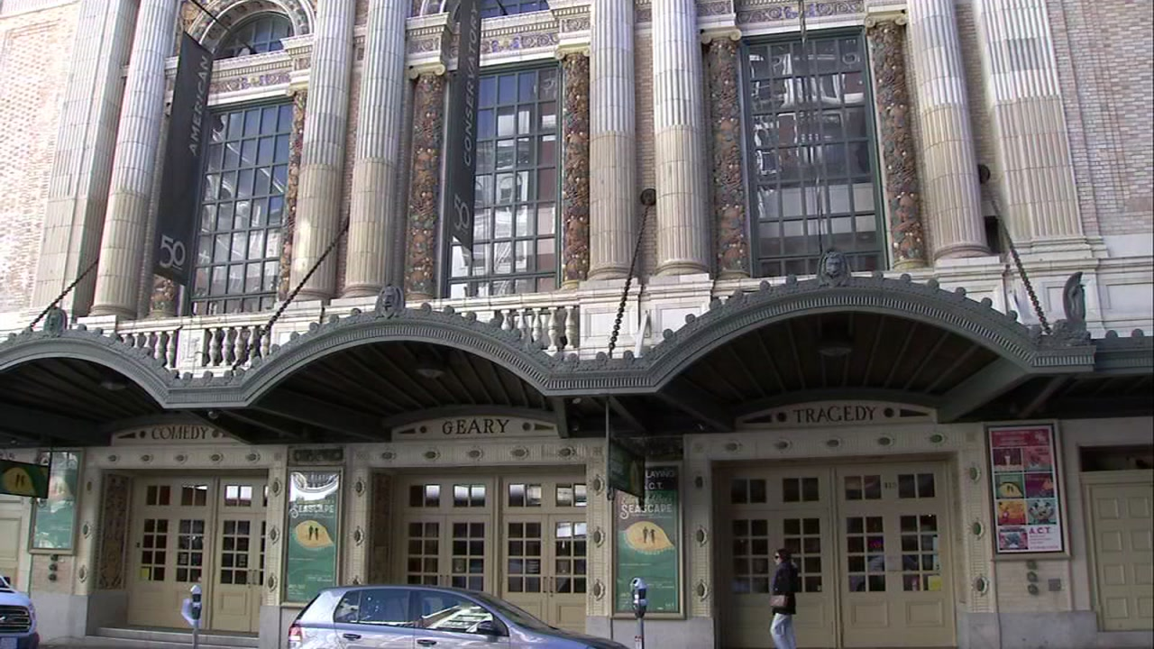 The American Conservatory Theater is seen in San Francisco in this undated image.
