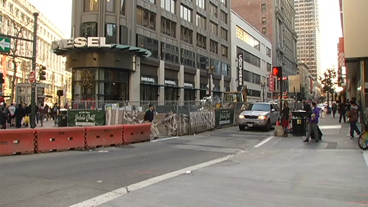 Stockton Street in San Francisco will be back open to traffic Friday after a seven-year closure.