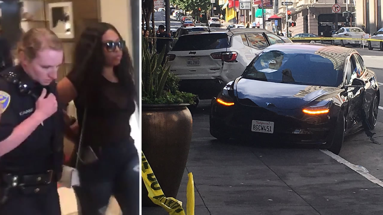 Vallejo woman ID'd as Tesla driver in SF crash that killed tourist