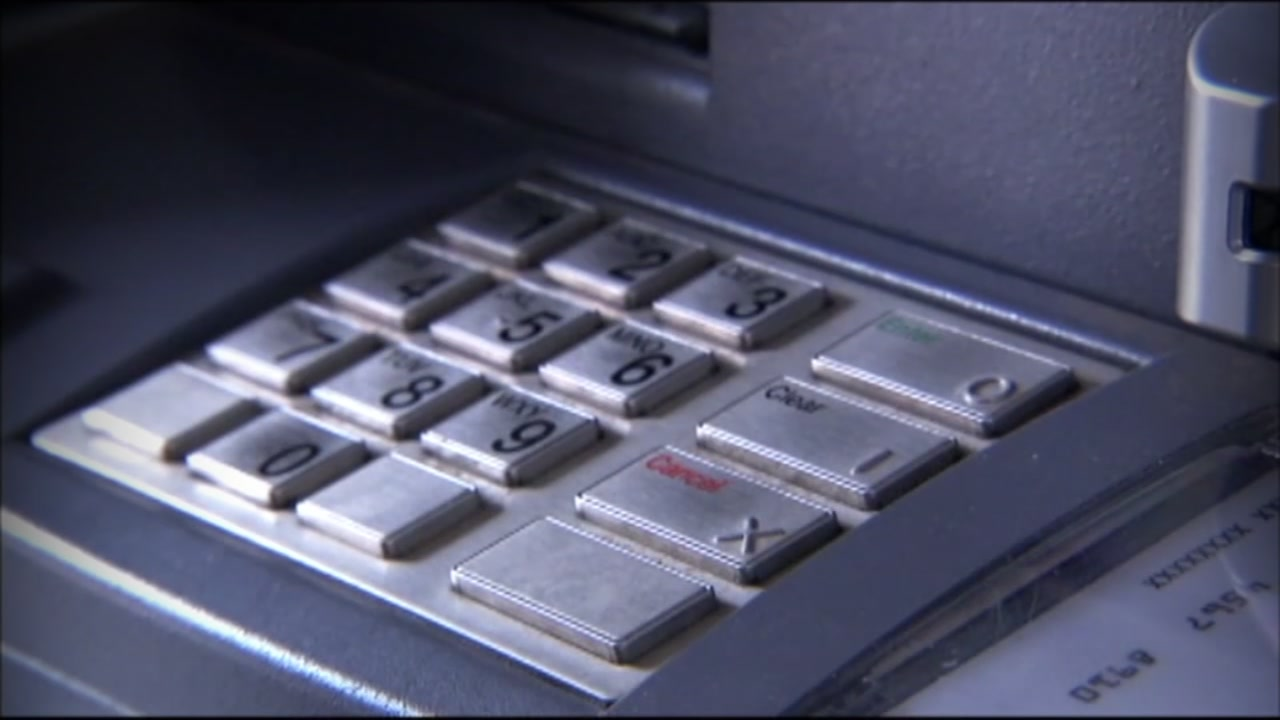 An ATM keypad is seen in this undated image.
