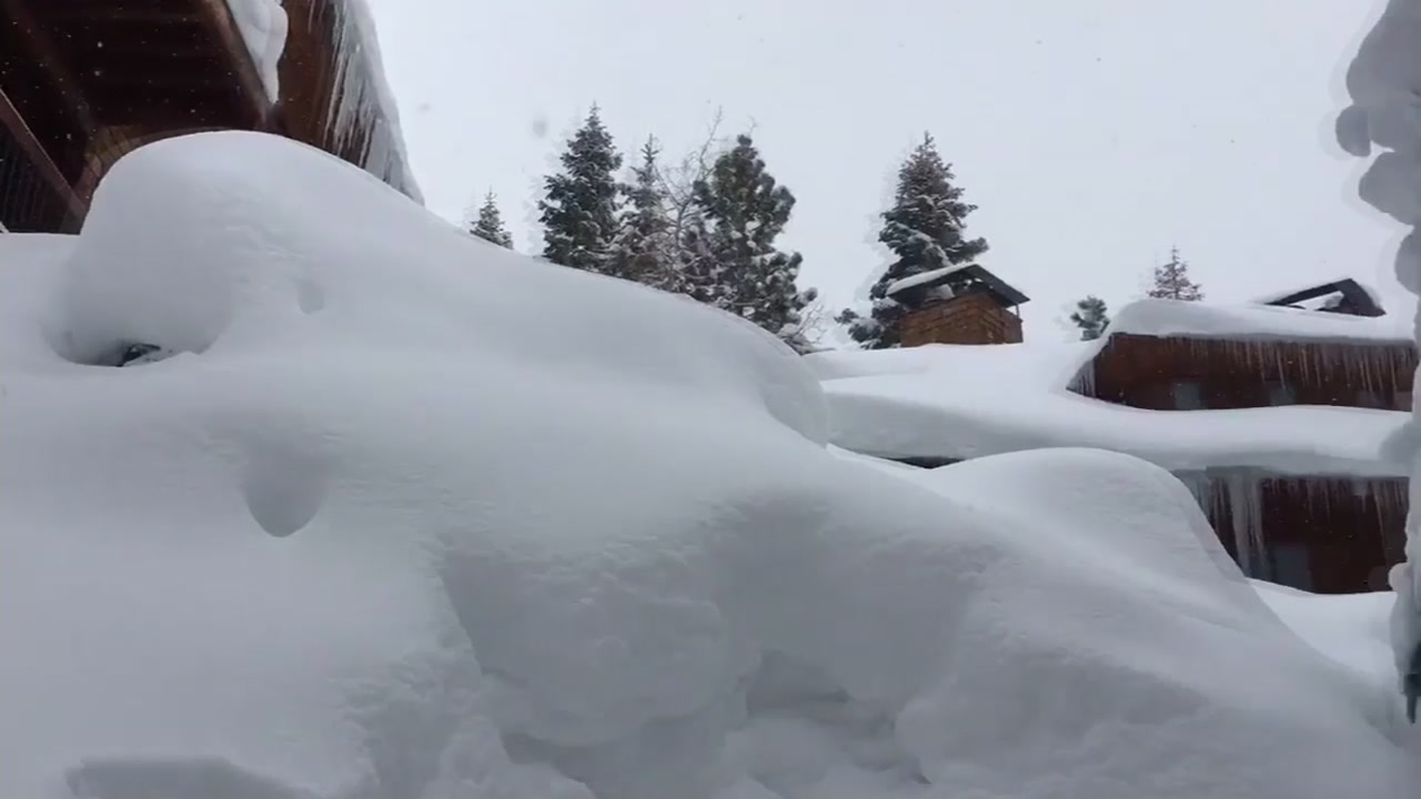 An astonishing amount of snow has fallen in the Sierra thanks to the latest series of storms, but travel remains treacherous for drivers.