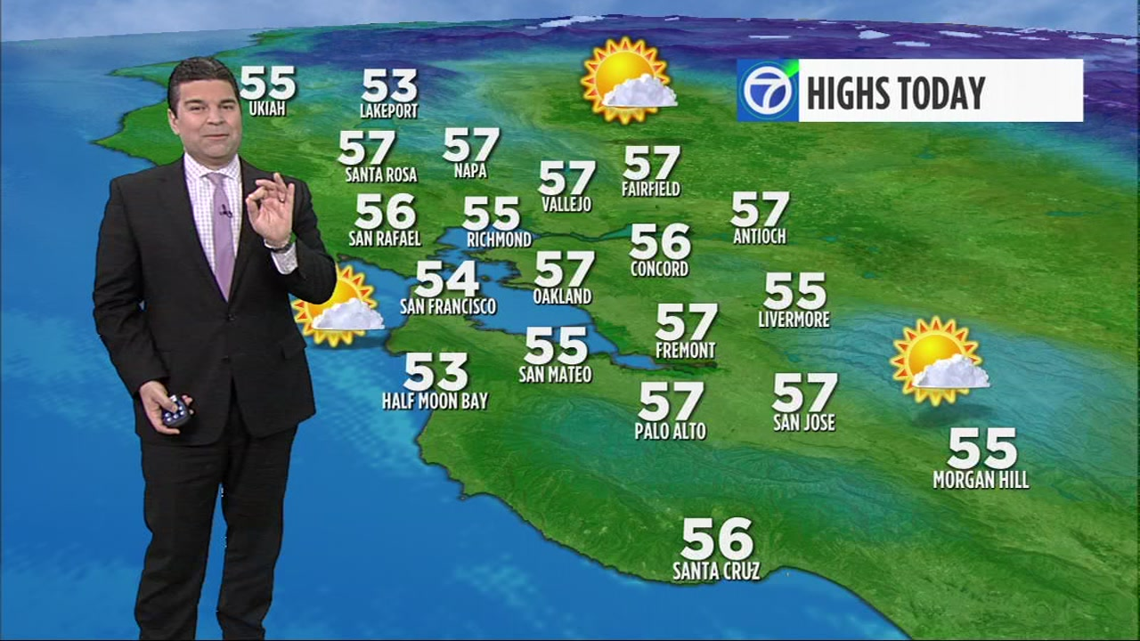 ABC7 Meteorologist Mike Nicco has your local AccuWeather forecast for Monday.