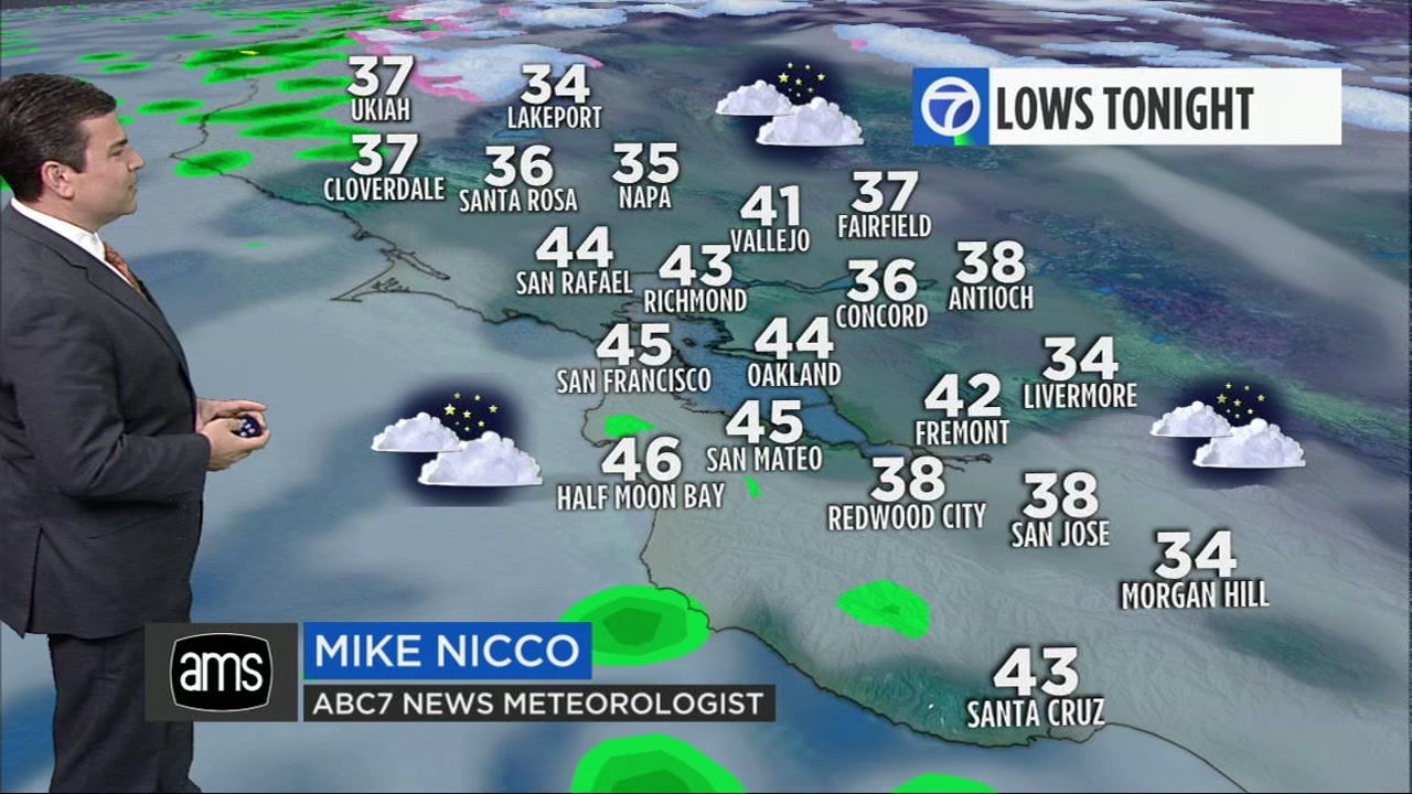 ABC7 News Meteorologist Mike Nicco has your local AccuWeather forecast for Tuesday morning.