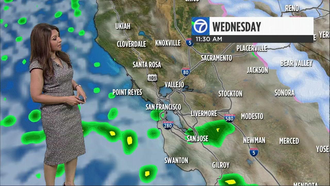 Meteorologist Sandhya Patel has your Bay Area AccuWeather forecast.