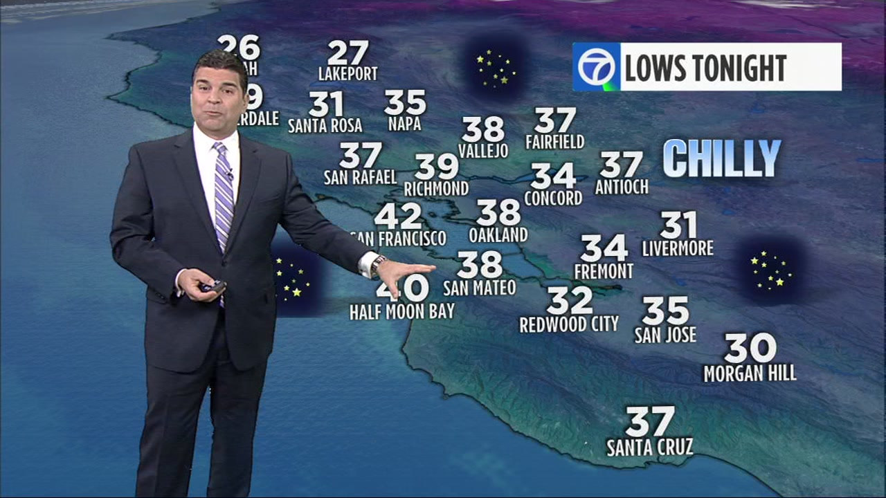 Meteorologist Mike Nicco has your Bay Area AccuWeather forecast for Thursday.