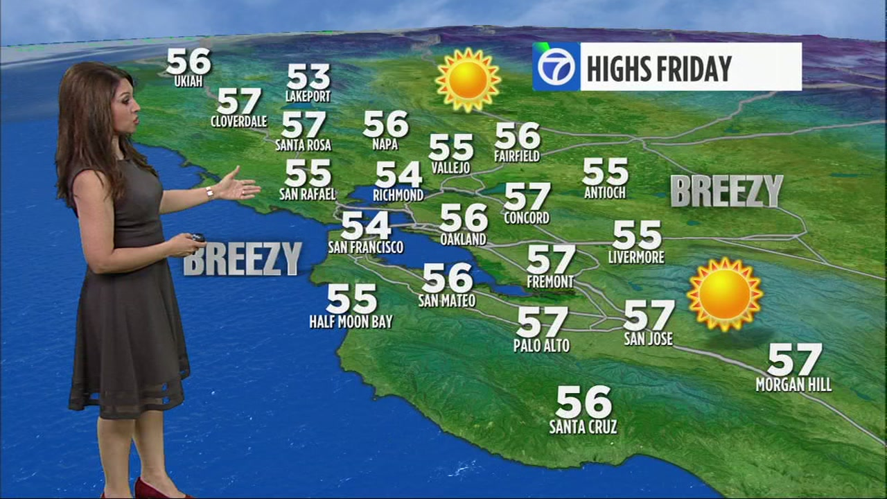 Meteorologist Sandhya Patel has your Bay Area AccuWeather forecast.