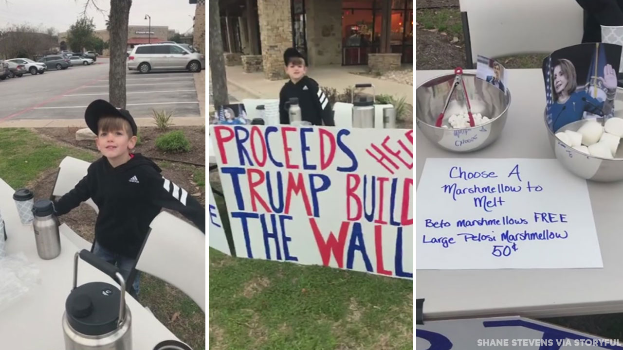Boy raises nearly $5,000 from hot chocolate for border wall