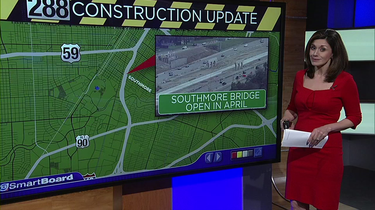 We have a construction update you may actually like for the Highway 288 Toll Expansion.