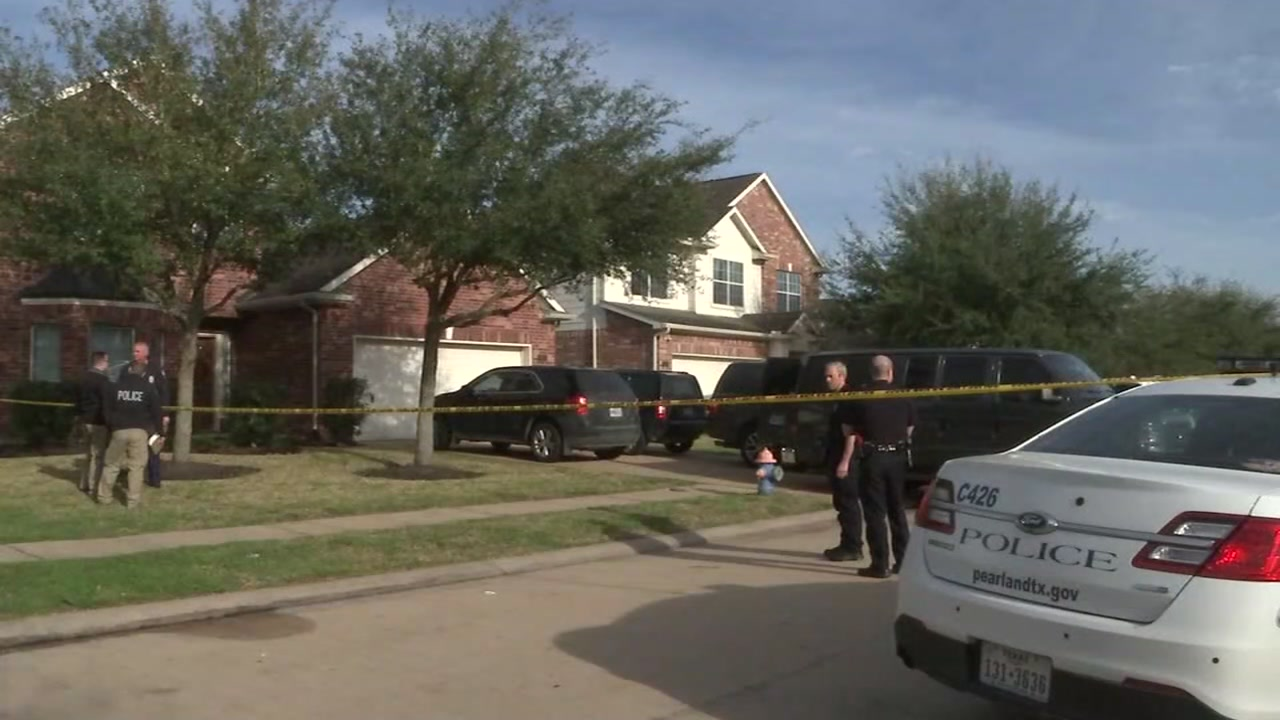 Police found the bodies of three adults inside the home. Authorities say one man was the shooter.
