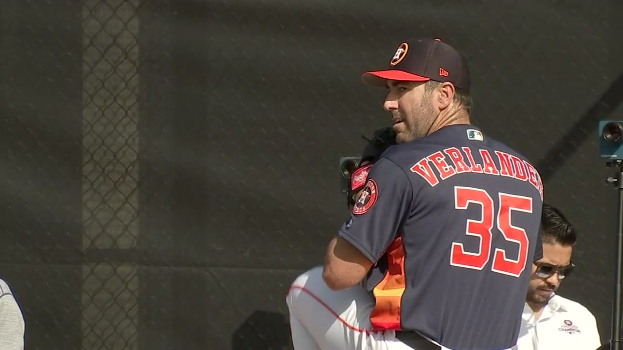 Justin Verlander enters Astros spring training with new role: dad